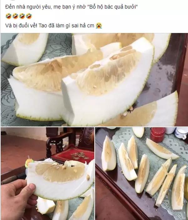 Cô gái up ảnh khoe được ăn sầu riêng, nhìn cách bổ mà tức muốn nội thương-7