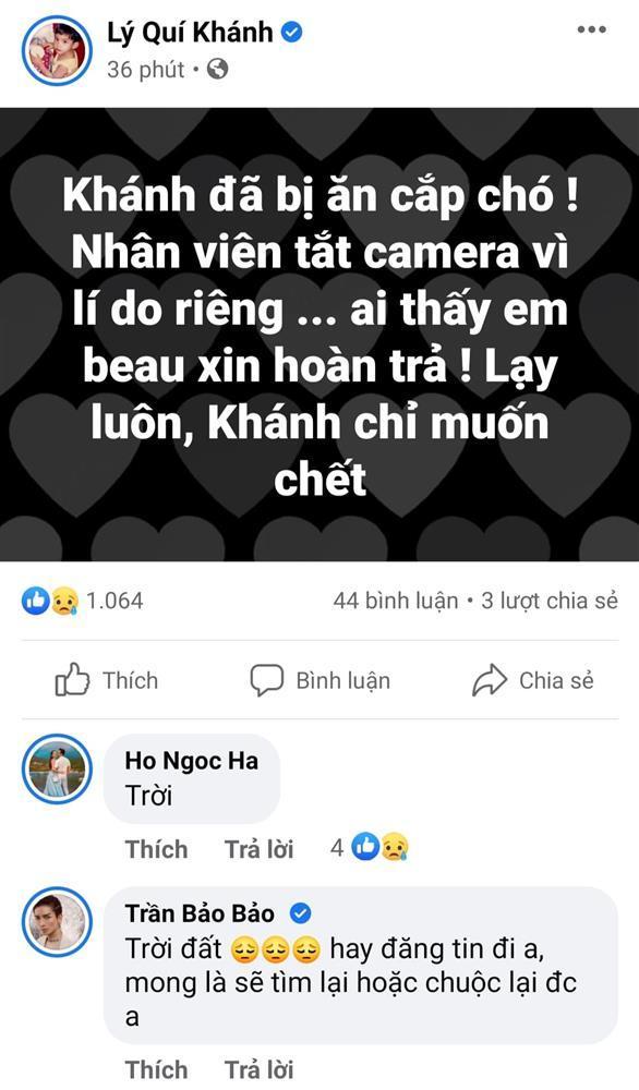 Mất con chó, Lý Quí Khánh đăng tin chỉ muốn chết-1