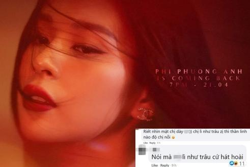 Phí Phương Anh thông báo comeback, netizen bàng hoàng: 'Lì như trâu vậy'