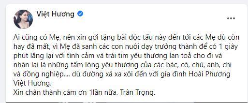 Chồng Việt Hương độc tấu saxophone tiễn biệt đấng sinh thành-3