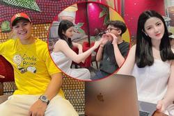 Bị đồn hẹn hò Quang Hải, Chu Thanh Huyền tung clip người trao nhẫn
