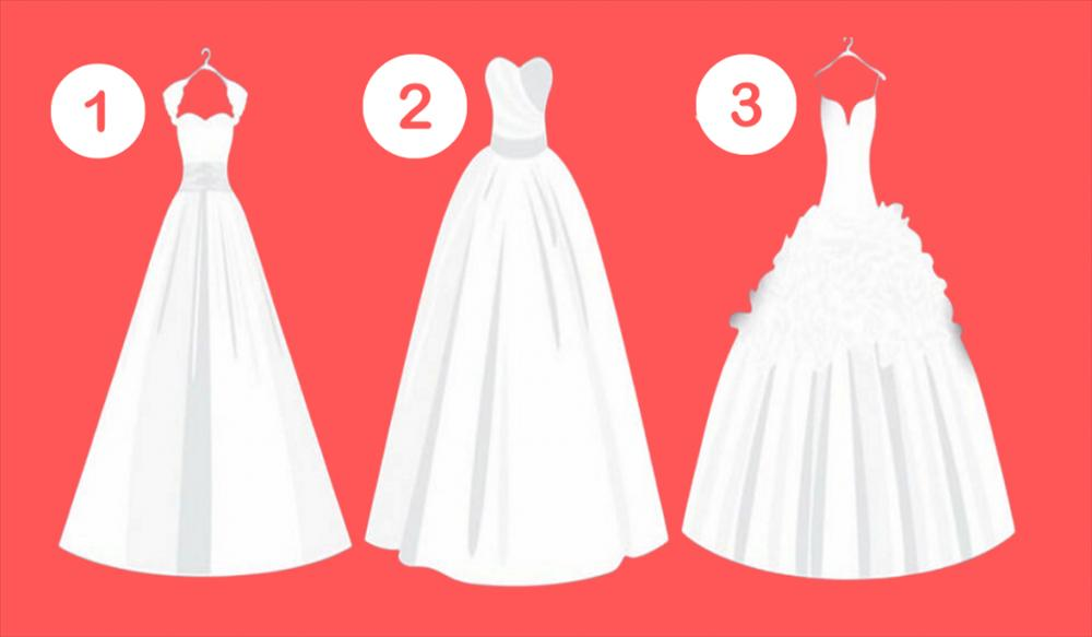 Chiếc váy cưới yêu thích nhất sẽ tiết lộ thái độ của bạn trong tình yêu-1