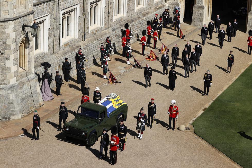 Toàn cảnh đám tang Hoàng thân Philip, phu quân Nữ hoàng Elizabeth II-3