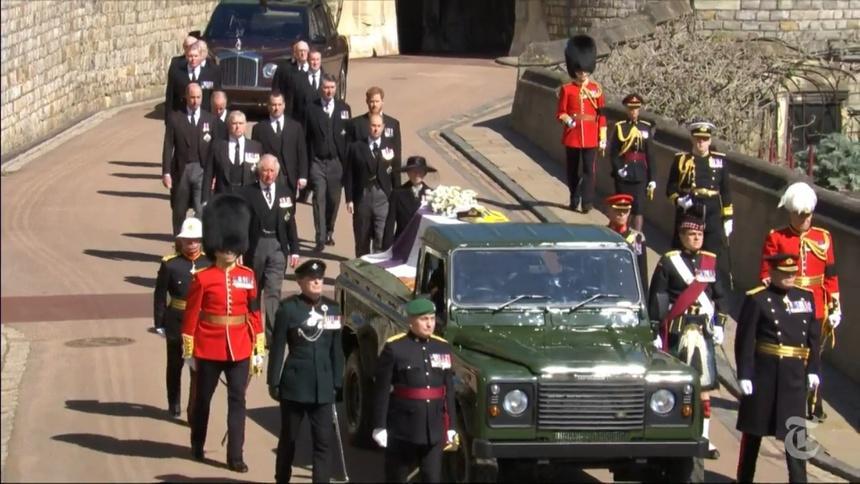 Toàn cảnh đám tang Hoàng thân Philip, phu quân Nữ hoàng Elizabeth II-5