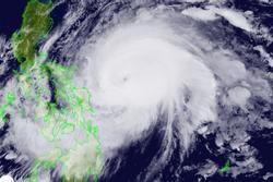 Siêu bão cấp 17 hình thành gần Biển Đông