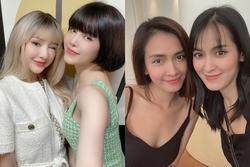 Mỹ nhân Việt chụp chung gây lú: Đố phân biệt được ai với ai
