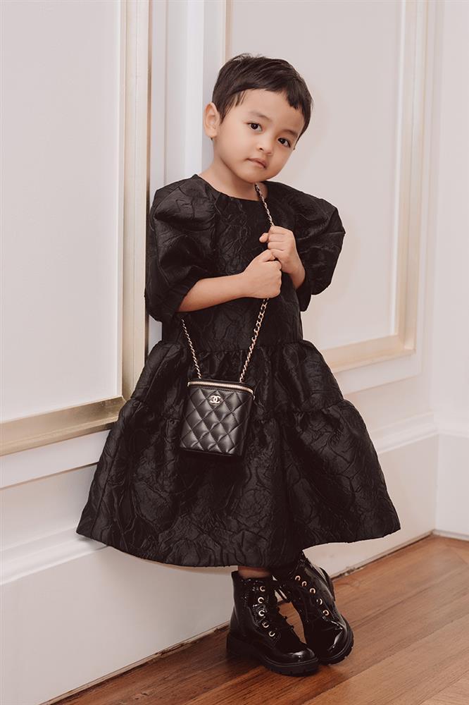 Con gái Đỗ Mạnh Cường giống HHen Niê, có tố chất Hoàn vũ-7