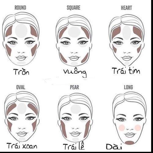 Họa mặt tone Tây như Hoa hậu Tiểu Vy chỉ với 5 bước-5