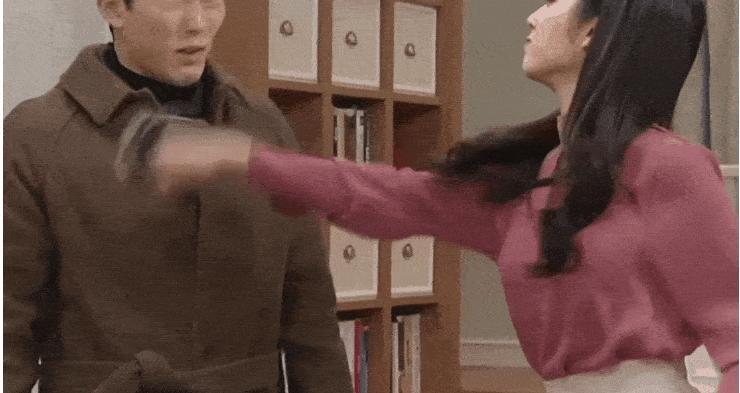 Cười nghiêng ngả với những cú tát bằng thức ăn trong phim Hàn Quốc-5