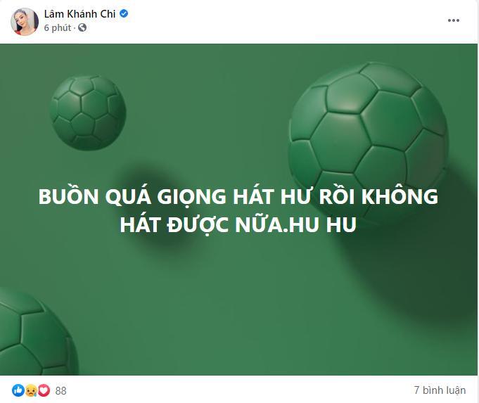 Lâm Khánh Chi khàn giọng do bán online ngày nói 4-5 tiếng-2
