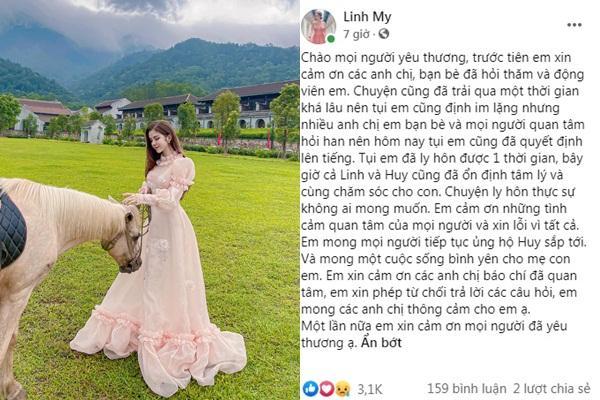 Hot girl trường báo nói gì khi Huy Cung công khai ly hôn?-2