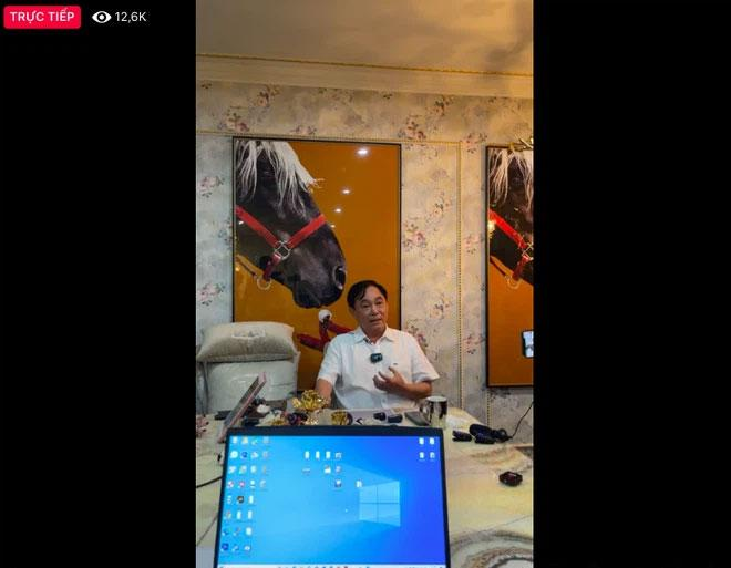 Ông Dũng Lò Vôi livestream nói về đám nghệ sĩ gây tranh cãi-3