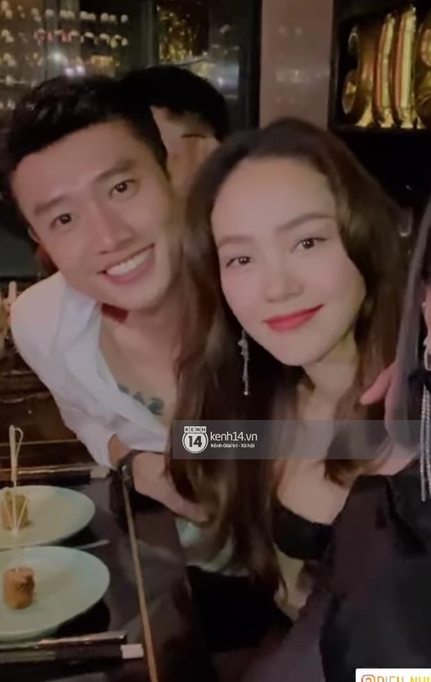 Quốc Trường và Minh Hằng hẹn hò trong tiệc sinh nhật, kéo nhau ra 1 góc ôm hôn-10