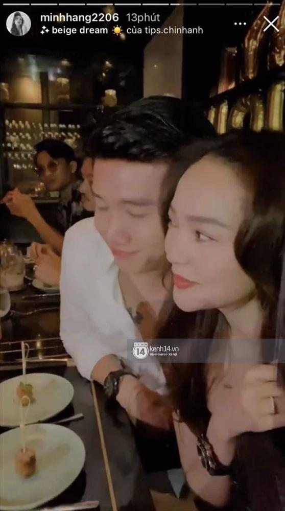 Quốc Trường và Minh Hằng hẹn hò trong tiệc sinh nhật, kéo nhau ra 1 góc ôm hôn-12