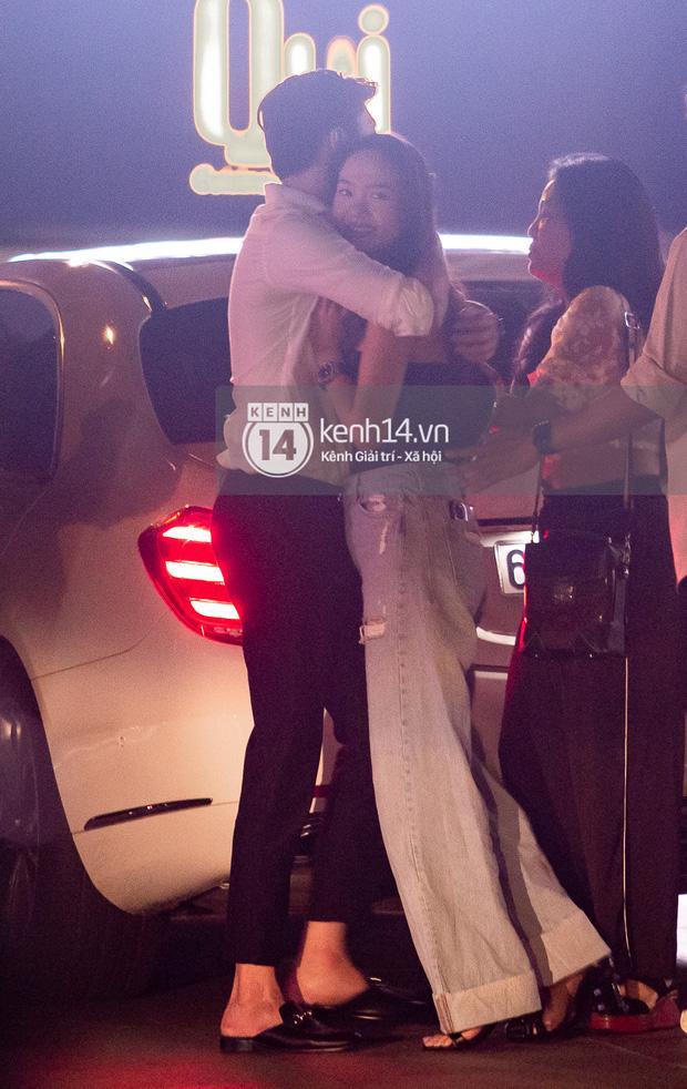 Quốc Trường và Minh Hằng hẹn hò trong tiệc sinh nhật, kéo nhau ra 1 góc ôm hôn-8