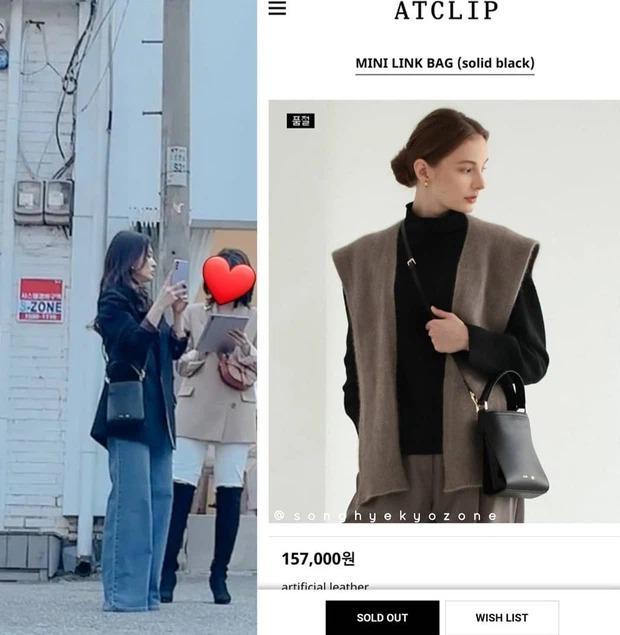 Song Hye Kyo khiến antifan á khẩu khi mẫu túi cô đeo lại cháy hàng trong 1 nốt nhạc-4