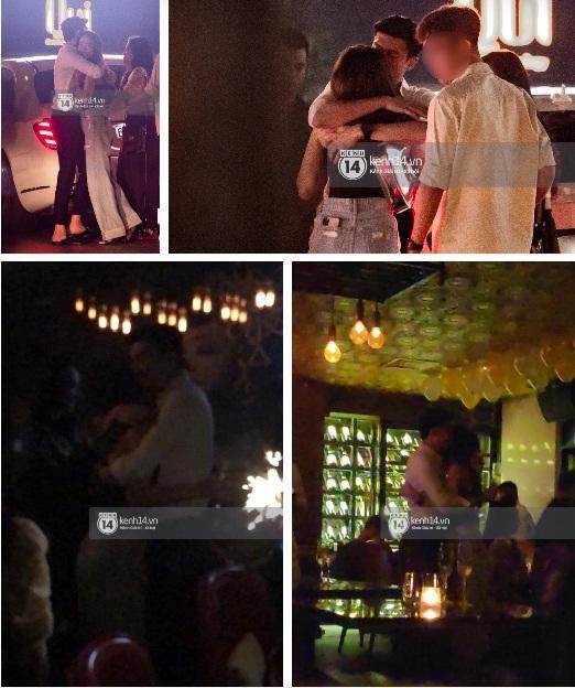 Hình ảnh Quốc Trường ôm hôn Minh Hằng tại quán bar có câu trả lời-1