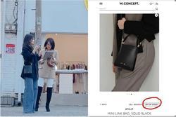 Song Hye Kyo khiến antifan 'á khẩu' khi mẫu túi cô đeo lại cháy hàng trong 1 nốt nhạc