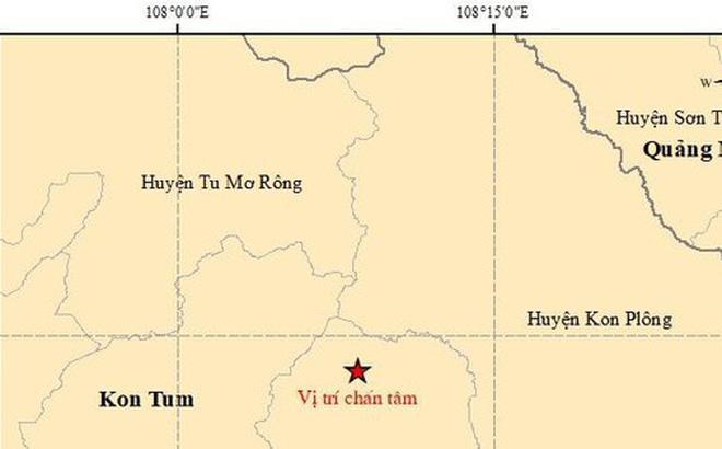 Liên tiếp động đất ở Tây Nguyên-1