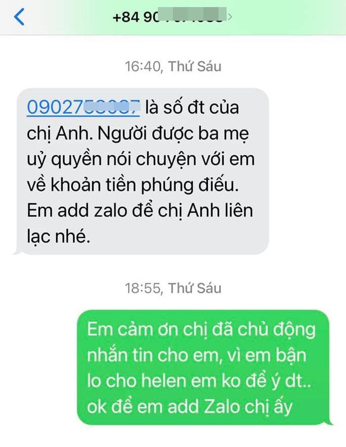 Linh Lan cầu xin vợ đầu Vân Quang Long: Tha cho mẹ con tôi-3