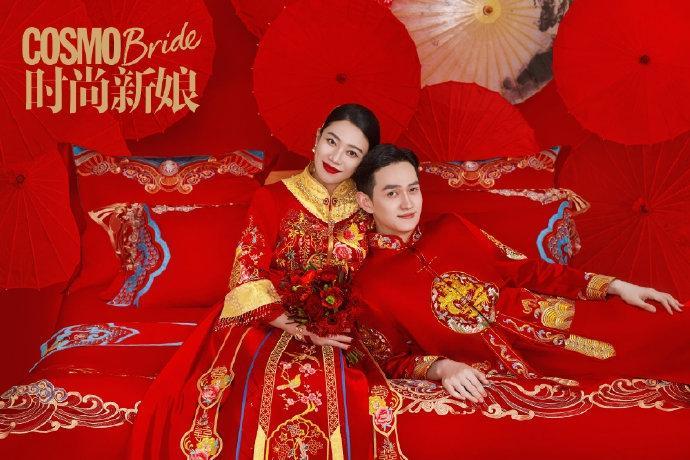 Sao nam Hoa Thiên Cốt lên chức bố, tung ảnh cưới siêu ngọt-3