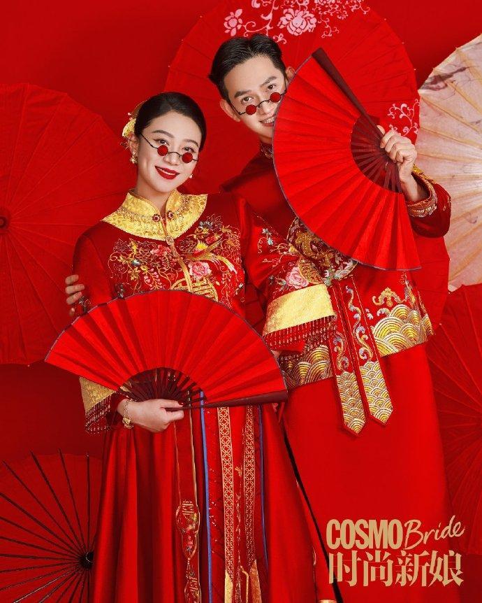 Sao nam Hoa Thiên Cốt lên chức bố, tung ảnh cưới siêu ngọt-4