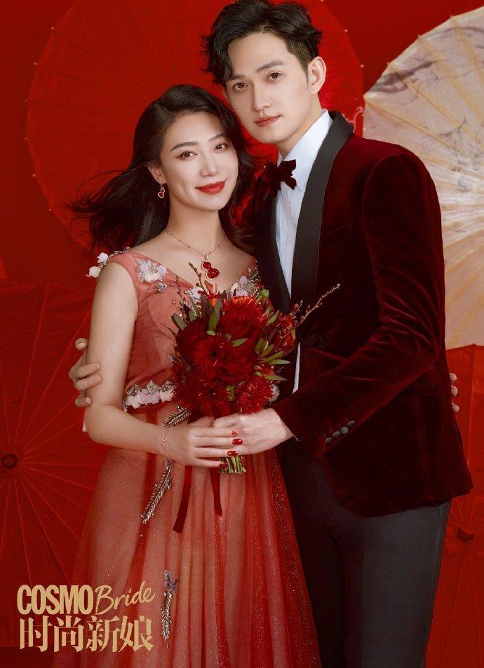 Sao nam Hoa Thiên Cốt lên chức bố, tung ảnh cưới siêu ngọt-6