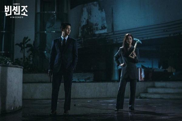 Vincenzo: Song Joong Ki lỡ miệng gọi Jeon Yeo Bin là rác-2