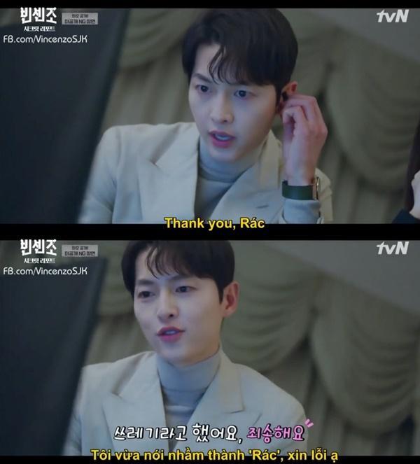 Vincenzo: Song Joong Ki lỡ miệng gọi Jeon Yeo Bin là rác-3