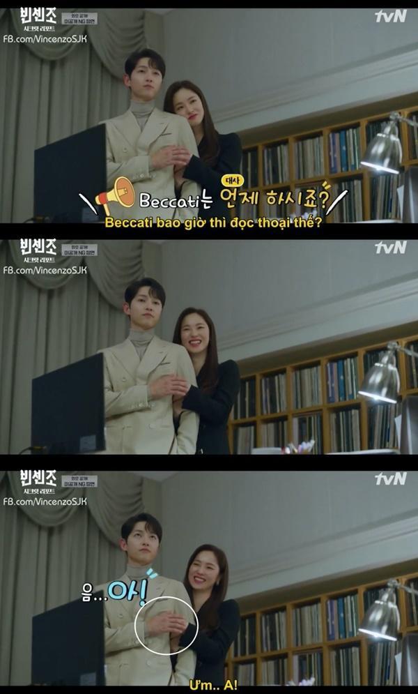 Vincenzo: Song Joong Ki lỡ miệng gọi Jeon Yeo Bin là rác-4