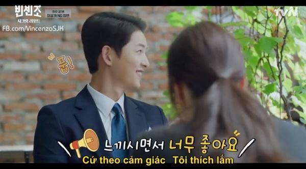 Vincenzo: Song Joong Ki lỡ miệng gọi Jeon Yeo Bin là rác-6