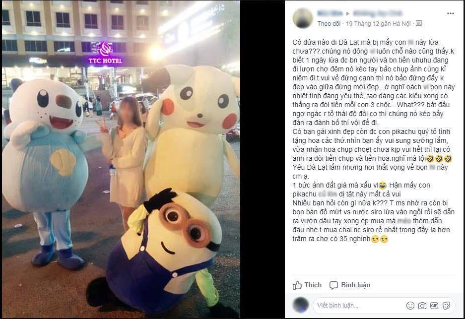 Cô gái bị Tề Thiên Đại Thánh gạ chụp ảnh rồi vòi tiền: Công chụp ảnh không miễn phí được-3