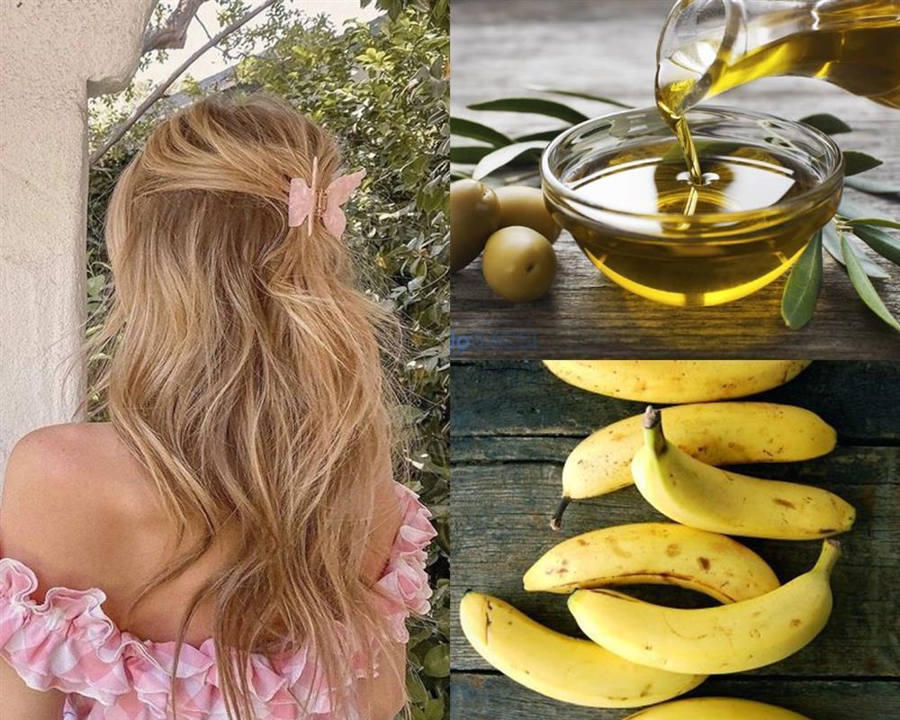 4 công thức hair mask từ dầu oliu cứu rỗi mái tóc chẻ ngọn-2