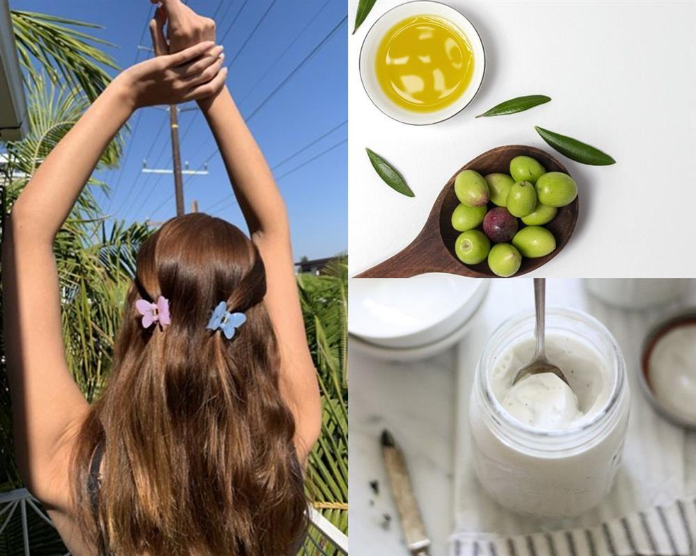 4 công thức hair mask từ dầu oliu cứu rỗi mái tóc chẻ ngọn-4