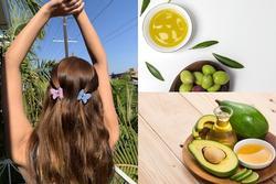 4 công thức 'hair mask' từ dầu oliu cứu rỗi mái tóc chẻ ngọn