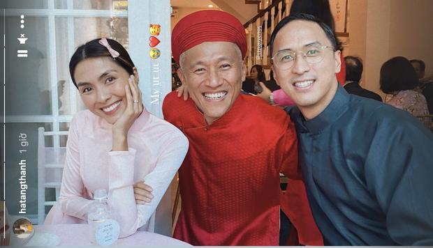 Gái 2 con Tăng Thanh Hà gây chú ý khi làm phù dâu-2