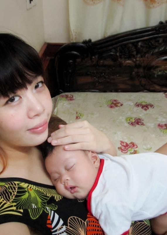 Sau 10 năm làm mẹ, MC Diệp Chi giờ mới chịu khoe nhan sắc nằm ổ-3