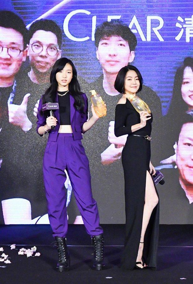 Con gái các mỹ nhân Hoa ngữ nườm nượp vào showbiz-11