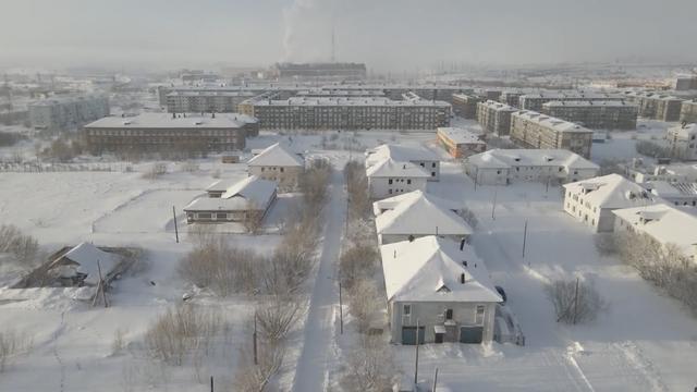 Cảnh tượng choáng ngợp tại ngôi làng bị đóng băng hoàn toàn ở Nga-1