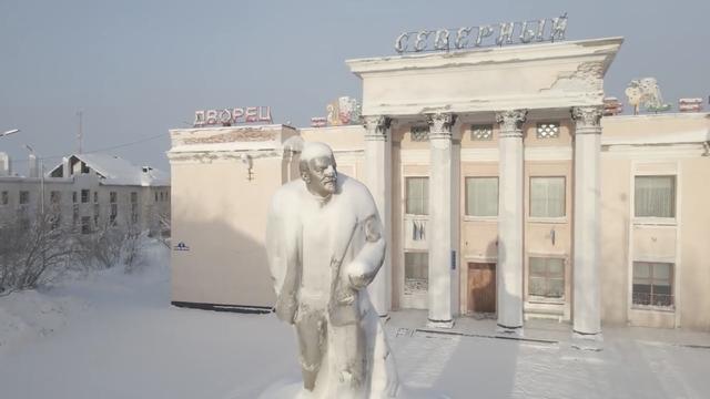 Cảnh tượng choáng ngợp tại ngôi làng bị đóng băng hoàn toàn ở Nga-2