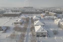 Cảnh tượng choáng ngợp tại ngôi làng bị đóng băng hoàn toàn ở Nga