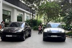 Hà Nội: Chủ xe Porsche Macan đeo biển giả 'bỏ của chạy lấy người'?
