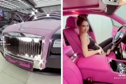 Ngọc Trinh 'tậu' siêu xe Roll Royce hơn 30 tỷ 'dằn mặt' Nathan Lee khi bị bóc phốt sống ảo?