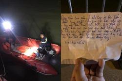 Nam thanh niên nghi nhảy cầu tự tử, để lại thư tuyệt mệnh: 'Ở nhà con áp lực lắm'