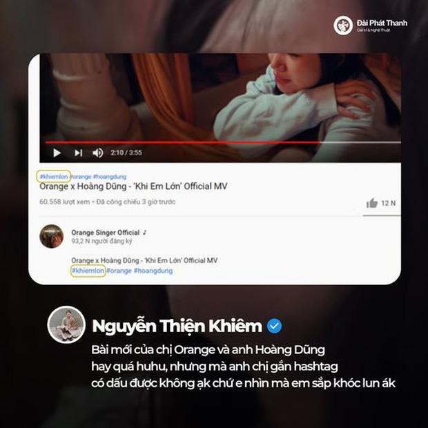 Orange tung MV, không lường trước sự phong phú tiếng Việt, cho ra hashtag nhạy cảm-5