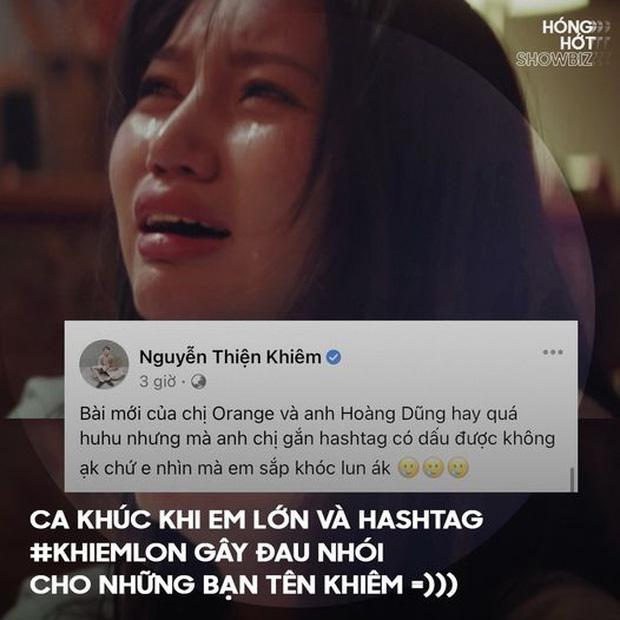 Orange tung MV, không lường trước sự phong phú tiếng Việt, cho ra hashtag nhạy cảm-6