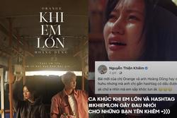 Orange tung MV, không lường trước sự phong phú tiếng Việt, cho ra hashtag nhạy cảm