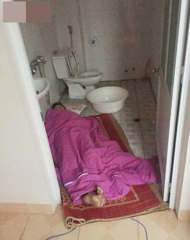 Ảnh anh chồng mắc màn ngủ ngoài đường vì trót dại cãi lời vợ-3