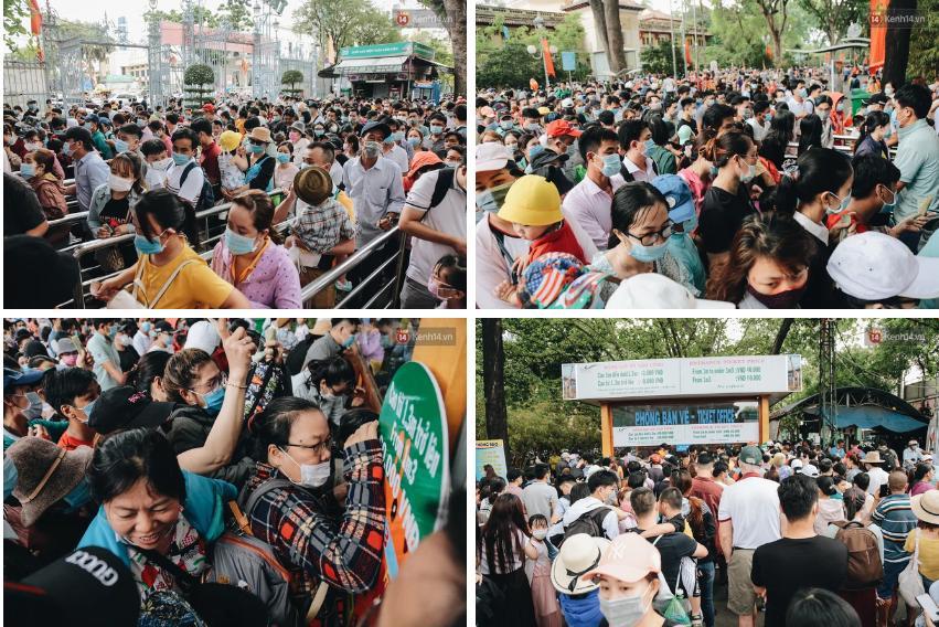 Biển người chật kín Thảo Cầm Viên Sài Gòn trong ngày giỗ Tổ Hùng Vương-2