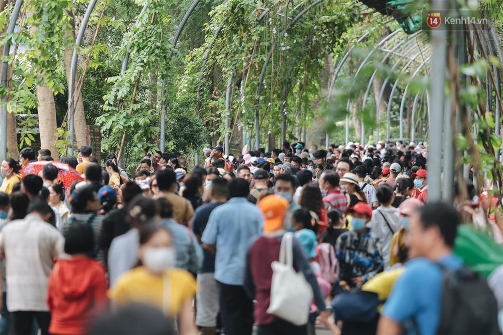 Biển người chật kín Thảo Cầm Viên Sài Gòn trong ngày giỗ Tổ Hùng Vương-6